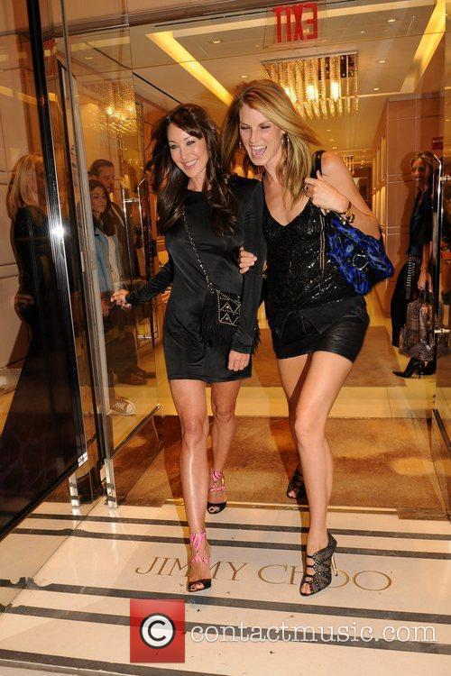 Tamara Mellon and Angela Lindvall 1