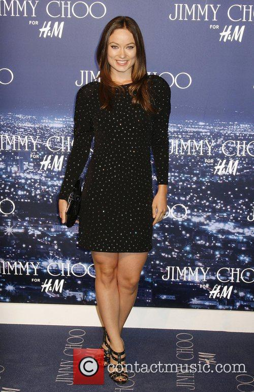 Olivia Wilde arriving at the Jimmy Choo for...