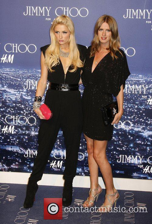 Paris Hilton and Nicky Hilton arriving at the...