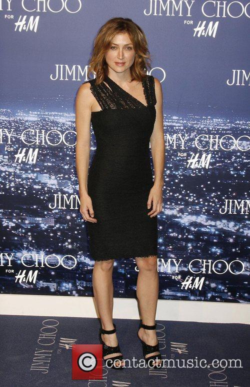 Sasha Alexander arriving at the Jimmy Choo for...