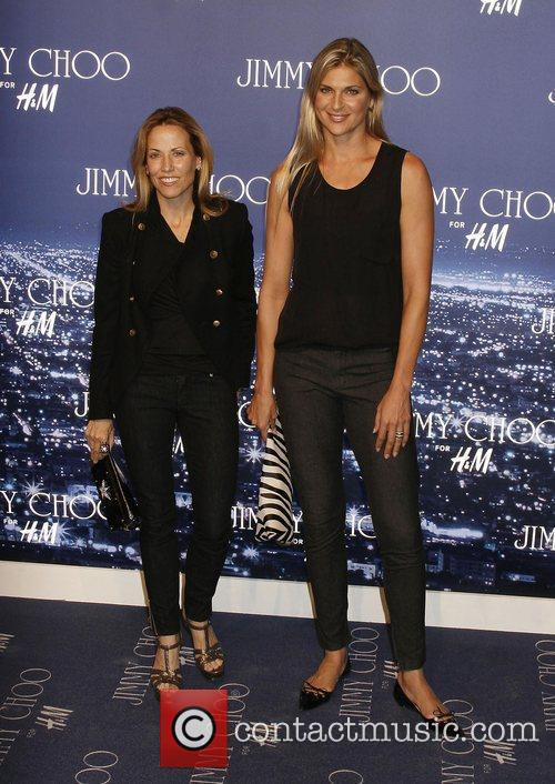 Sheryl Crow and Gabrielle Reece arriving at the...