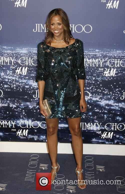 Stacey Dash and Jimmy Choo