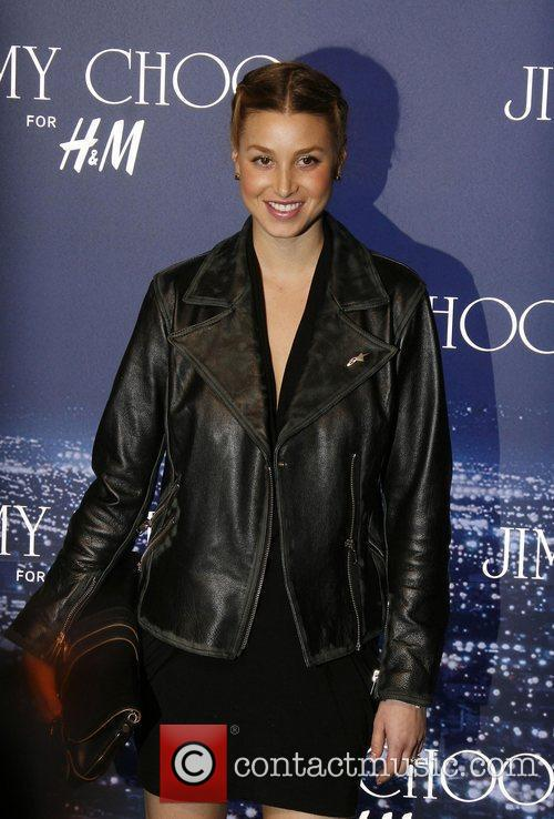 Whitney Port arriving at the Jimmy Choo for...
