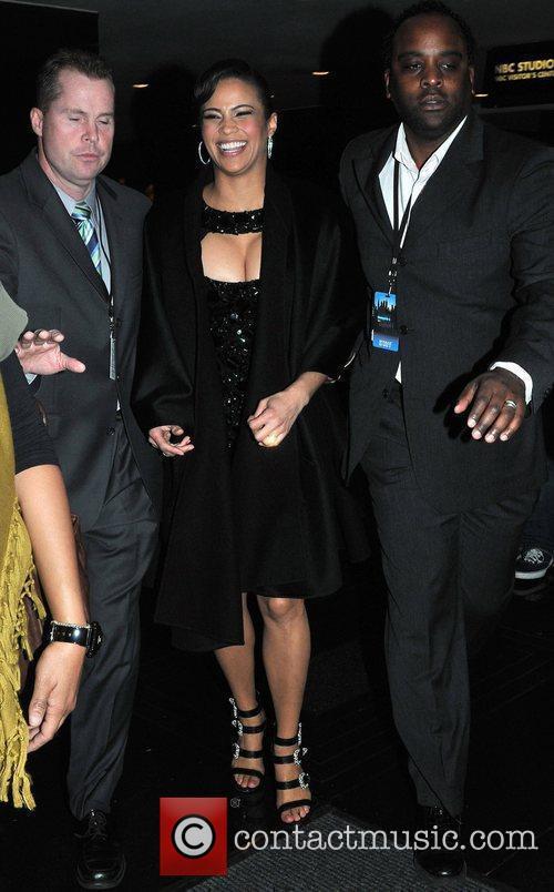 Paula Patton and Jimmy Fallon 3