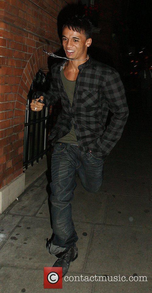 Aston Merrygold leaving Funky Buddha nightclub London, England