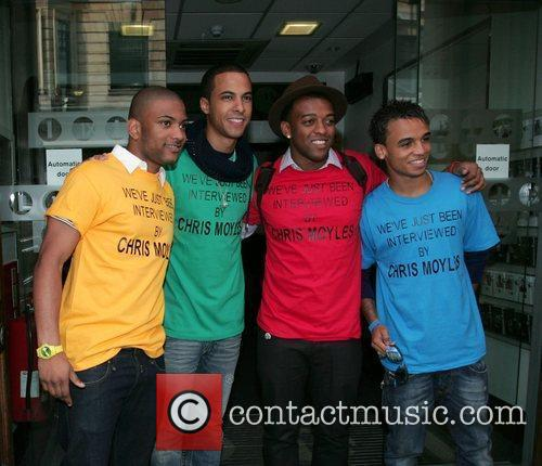 JB, Marvin Humes, Oritse Williams and Aston Merrygold...