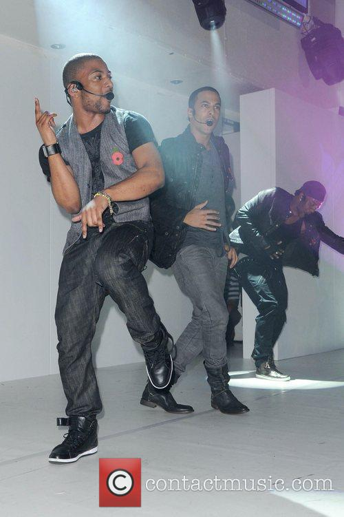 Jonathan JB Gill and Marvin Humes of JLS...