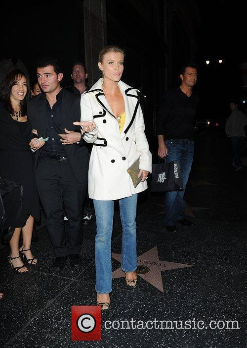 Joanna Krupa leaving Katsu-Ya restaurant Hollywood, California