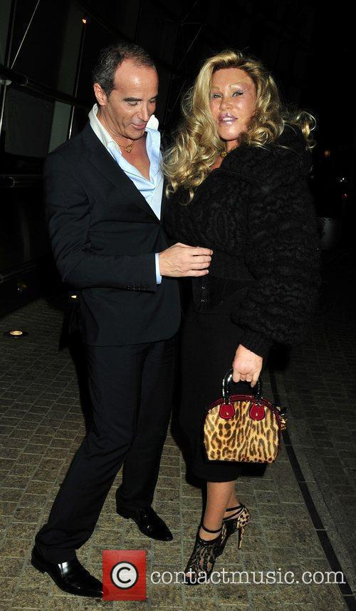 Jocelyn Wildenstein unveils a new face in October 2010.