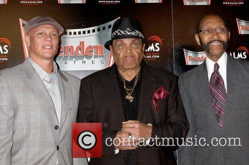 Johnny Brenden, Joe Jackson, Mayor Rudy Clay of Gary, Indiana