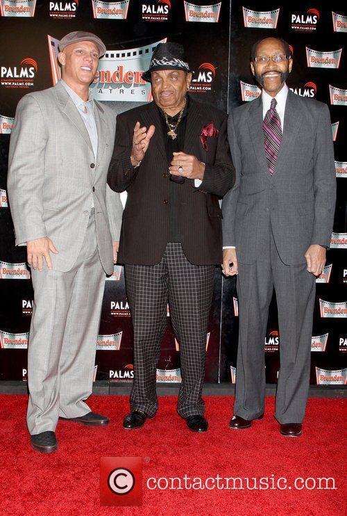 Johnny Brenden, Joe Jackson, Mayor Rudy Clay of Gary and Indiana 3