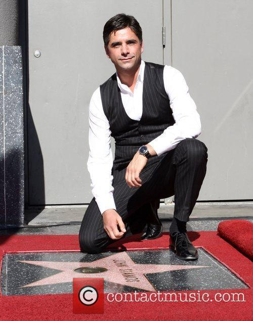 John Stamos is honoured with the 2,393rd Star...