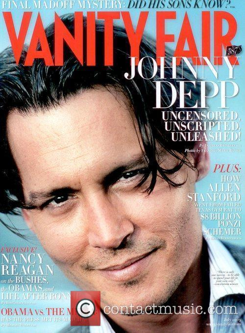 On the July 2009 cover of Vanity Fair...