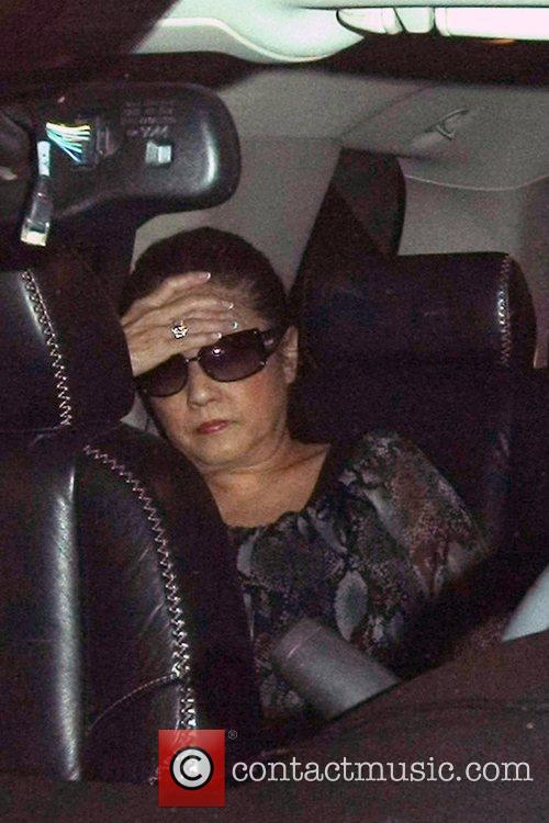 Jon Gosselin and his mother Pam Gosselin depart...