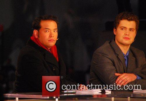 Jon Gosselin and Levi Johnston co-host the entertainment...