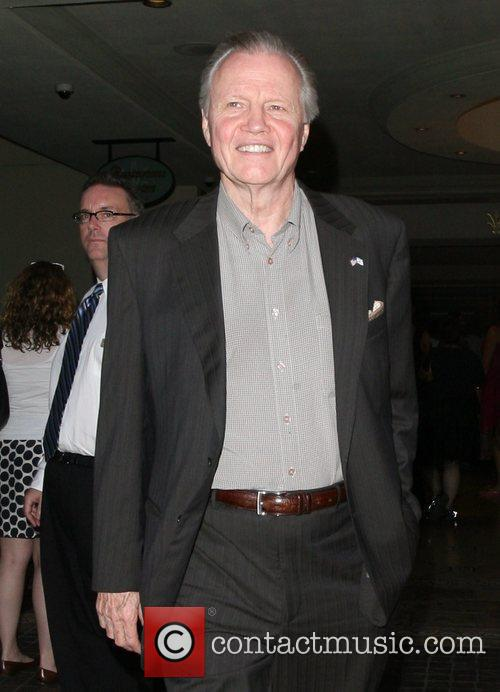 Jon Voight is in good spirits while out...