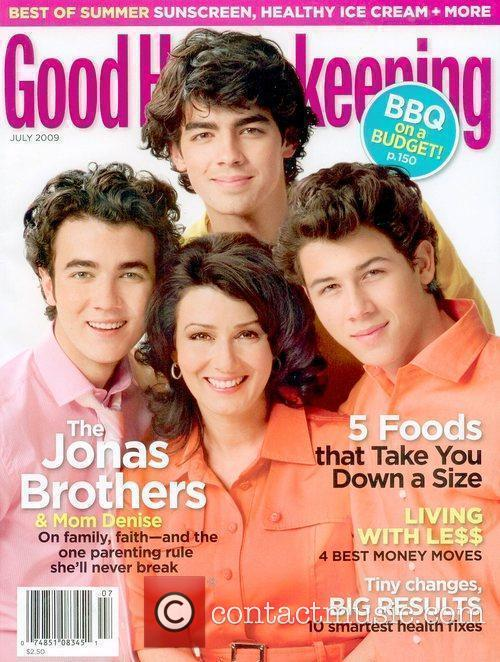 Jonas Brothers on the July 2009 cover of...