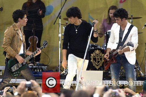 Nick Jonas, Joe Jonas, Kevin Jonas, Central Park