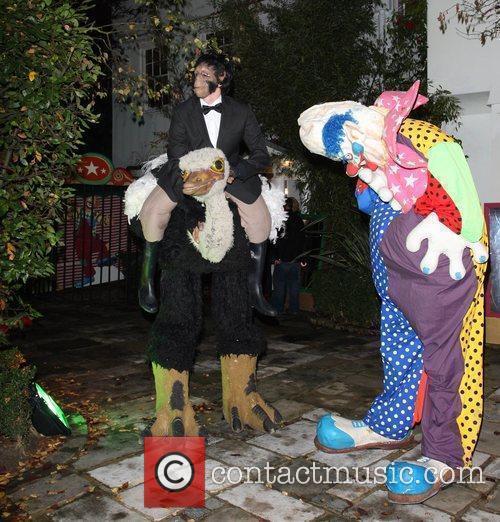 Jonathan Ross' Halloween Party.