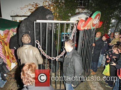 Atmosphere Jonathan Ross' Halloween Party. London, England