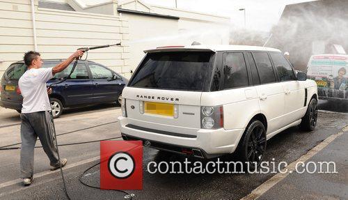 katie price aka jordan visits a car wash in brighton 2456740