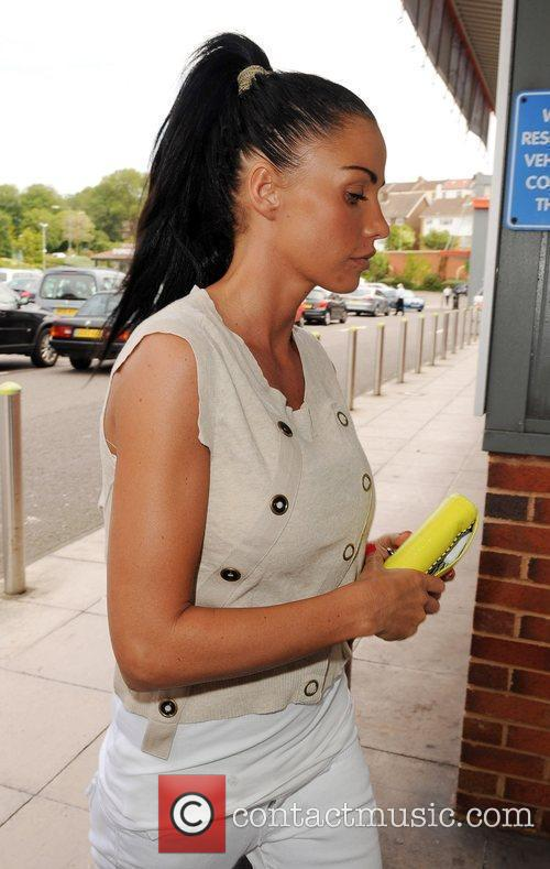 Katie Price aka Jordan shopping at Toys 'R'...