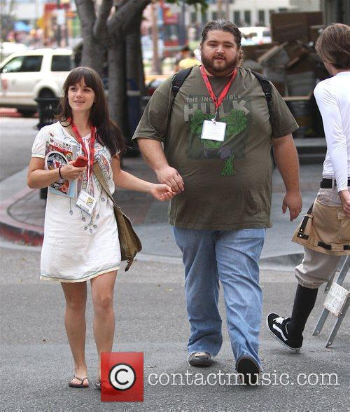 Jorge Garcia and girlfriend Bethany Leigh Shady 2