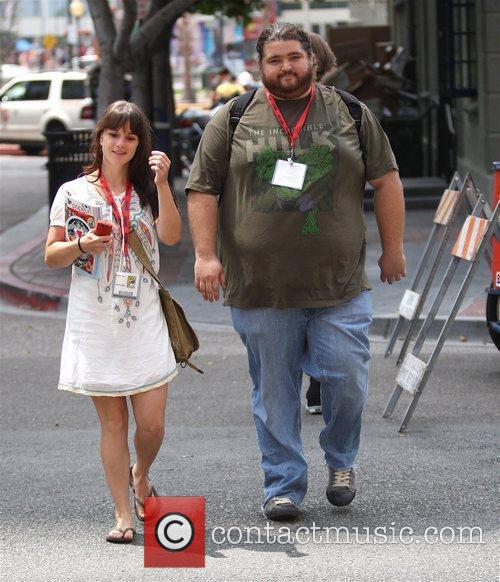 Walking to Comic-Con