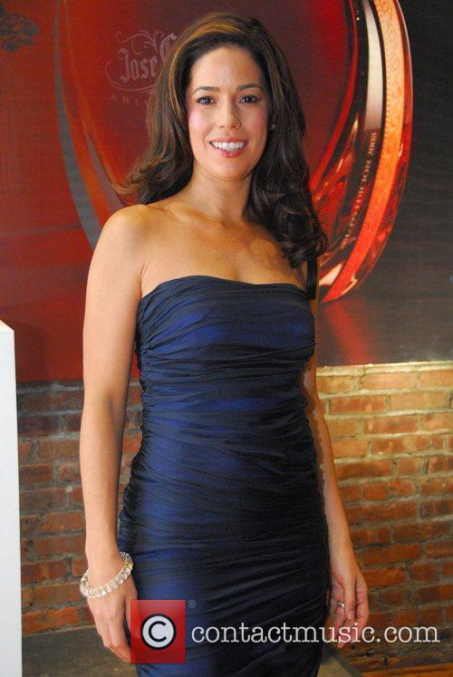 'Ugly Betty' actress Ana Ortiz celebrates the launch...
