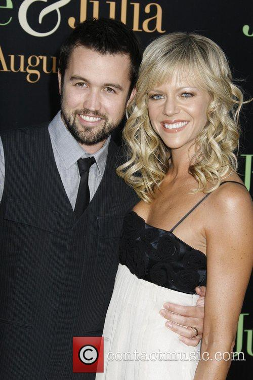 Rob McElhenney and Kaitlin Olson Los Angeles Premiere...