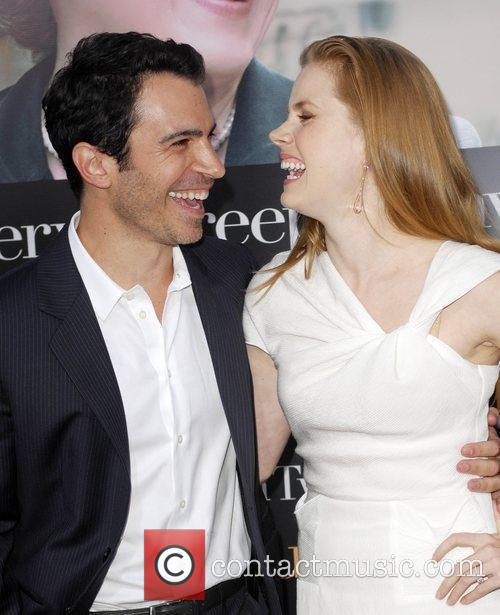 Chris Messina and Amy Adams Los Angeles Premiere...