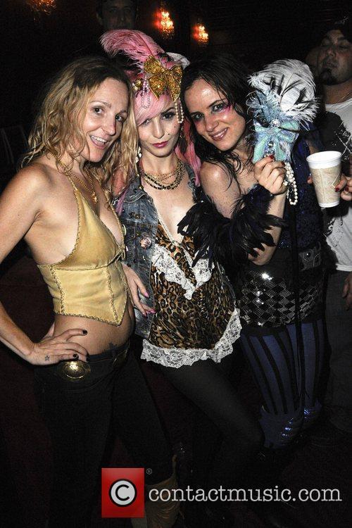 Ashley Paige, Audrey Kitching & Juliette Lewis Juliette...
