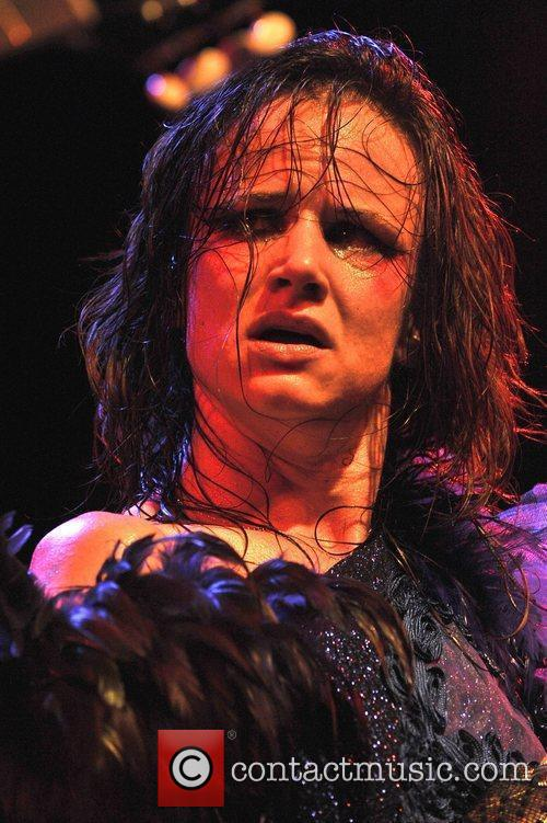 Juliette Lewis and The Ettes perform live at...