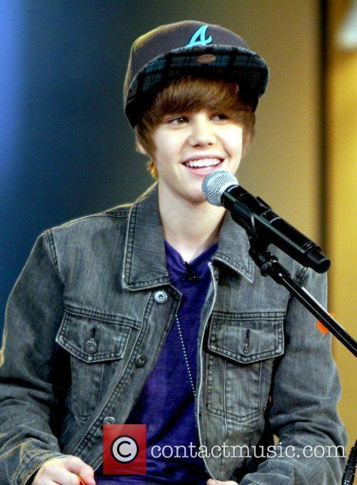 Justin Bieber at Good Morning America
