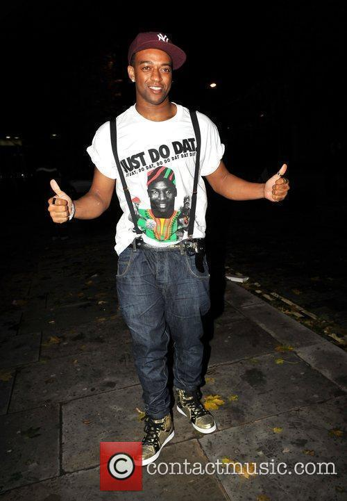 Oritse Williams of JLS outside Kanaloa Nightclub. London,...