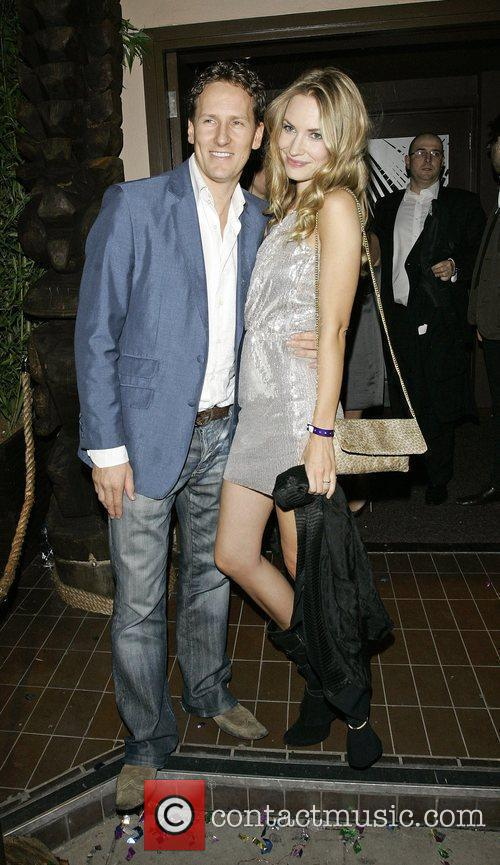 Brendan Cole and girlfriend The launch of Kanaloa...
