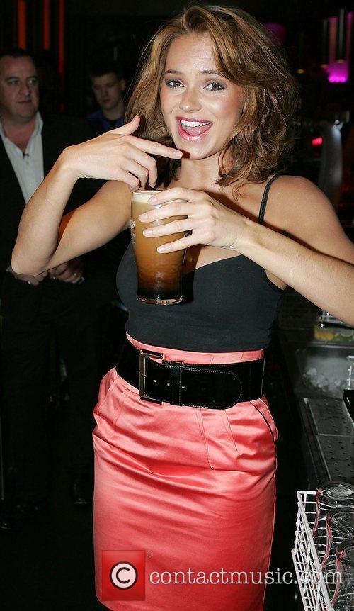 Kara Tointon at the Palace Nightclub in Navan...