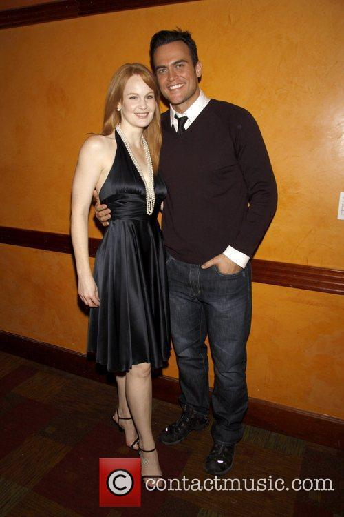 Kate Baldwin and Cheyenne Jackson CD release party...