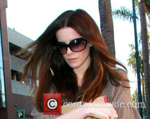 Kate Beckinsale leaving a medical building in Beverly...