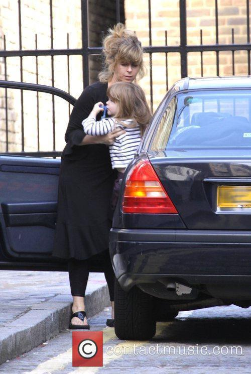Kate Garraway Returns Home With Her Children Darcy 3