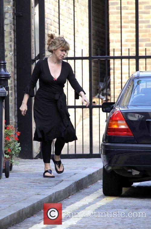 Kate Garraway Returns Home With Her Children Darcy 4