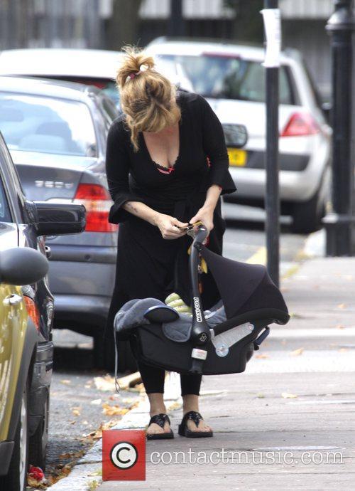 Kate Garraway Returns Home With Her Children Darcy 8