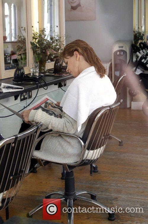 Kate Garraway Goes To The Hairdressers 6