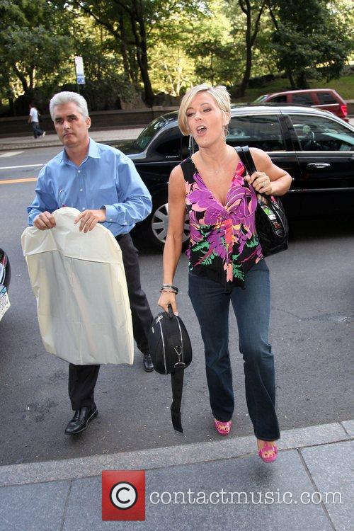 Kate Gosselin and Steve Neild arrive at a...