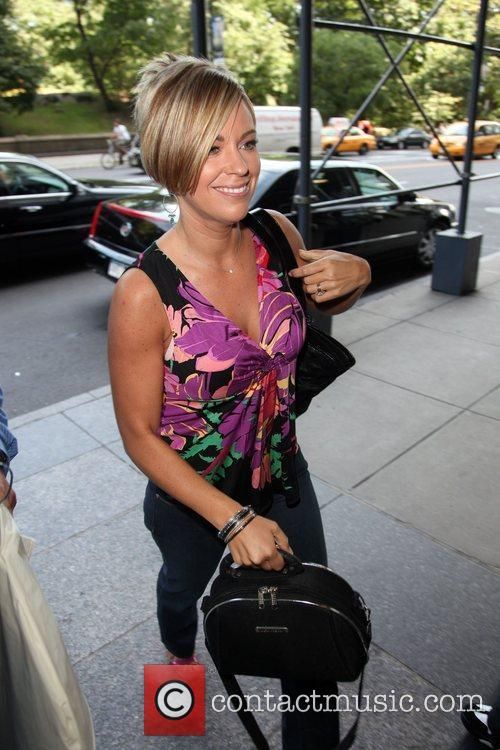 Kate Gosselin arrives at a hotel in Manhattan....