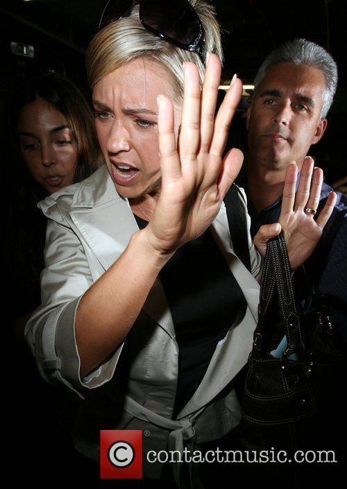 Kate Gosselin Is Greeted By A Frenzy Of Photographers As She Arrives At Loeb 4