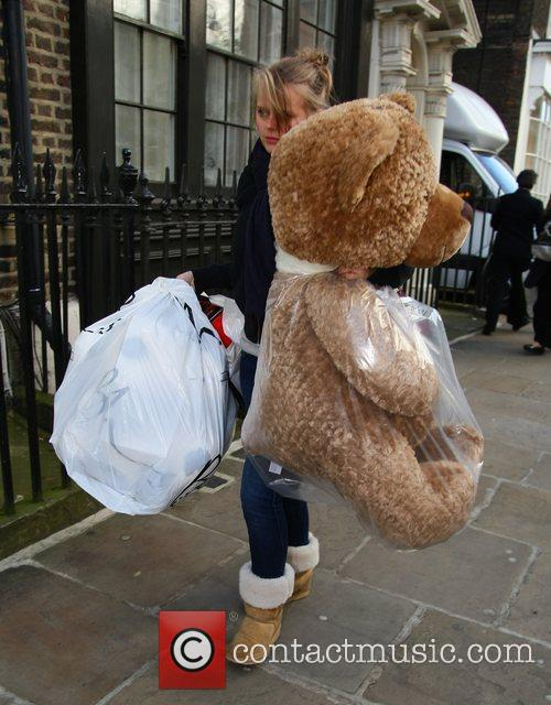 Bags of toys arrive at Great Ormond Street...
