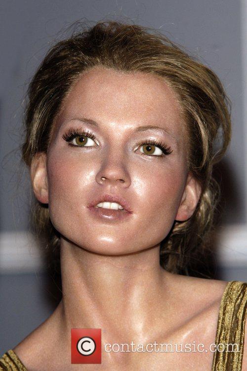 Kate Moss Waxwork Kate Moss and Tyra Banks...