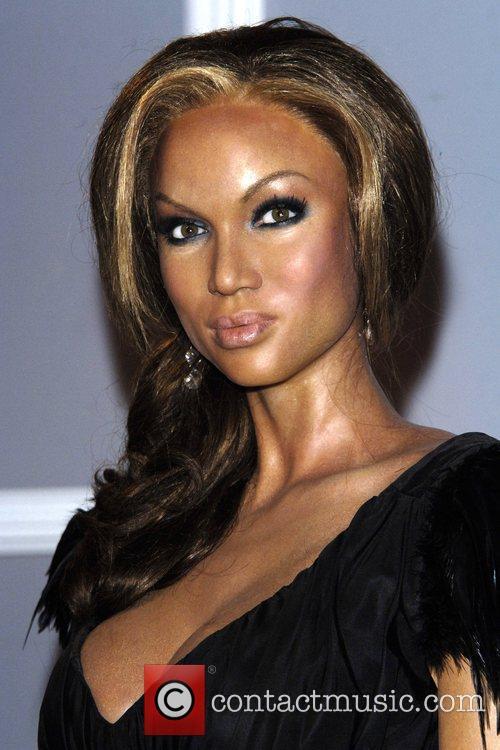 Tyra Banks Waxwork and Tyra Banks 1