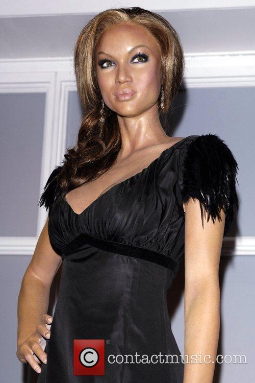 Tyra Banks Waxwork and Tyra Banks 2